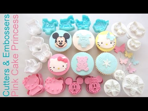 How to Use Cutters & Embossers for Cupcake Decorating – Product Review Collaboration