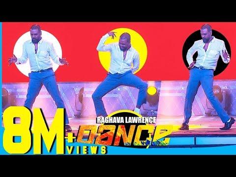 "Raghava Lawrence's Cool Dance Moves for Thalaivar Rajinikanth at Chennai Concert"""