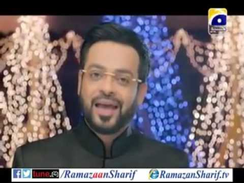 Video Ramazan Sharif Geet 2015 by Aamir liaquat Geo Tv download in MP3, 3GP, MP4, WEBM, AVI, FLV January 2017