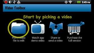 Video Toolbox editor YouTube video
