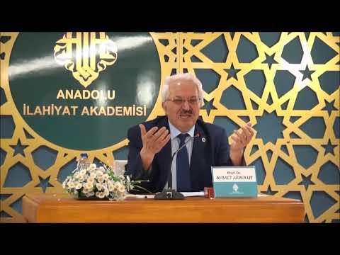 Prof.Dr. Ahmet AKBULUT - İlk Dönem İslam Toplumunda Fikri Sİyasi Değişim, Dönüşüm ve Farklılaşmalar