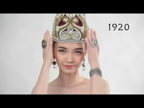 Стандарты казахской красоты за 100 лет