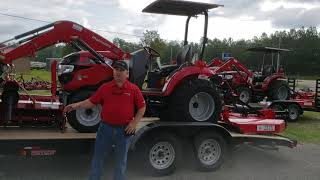 6. Mahindra 1533 Shuttle Tractor Package
