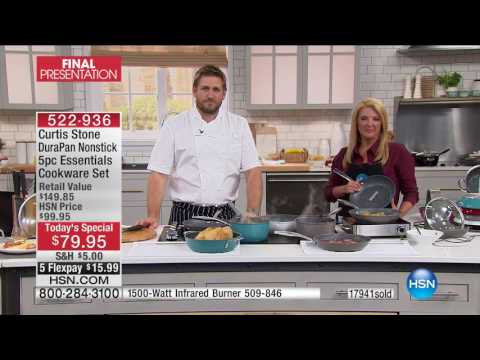HSN | Chef Curtis Stone 5th Anniversary 03.12.2017 - 10 PM
