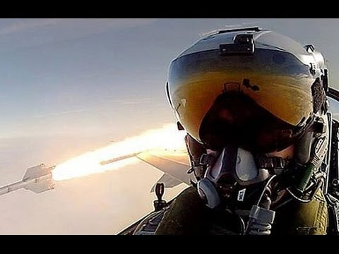 THE ULTIMATE SELFIE! VIDEO! RDAF pilot fires AIM 9L air to air missile from F 16