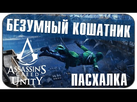 Пасхалка Assassin's Creed Unity - Безумный кошатник [ Easter Egg ]