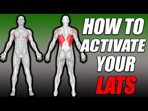 Back Activation   How To Feel Your Lats