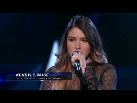 "Kendyle Paige Performs ""Me, Myself & I"" 