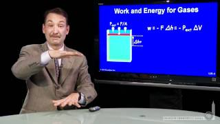 Work And Energy For Gases