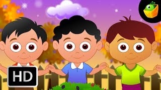 The Mulberry bush  - English Nursery Rhymes - Animated/ Cartoon Songs For Kids
