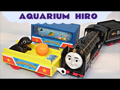 Tomy Plarail Hiro & The Aquarium Cars Kids Toy Thomas And Friends Train Set Thomas The Tank Engine