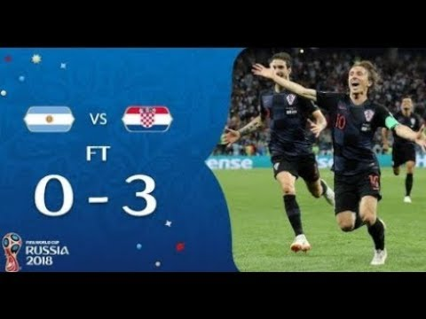 Argentina vs Croatia Highlights 0 3 English Commentary 21 6 2018 World Cup 2018