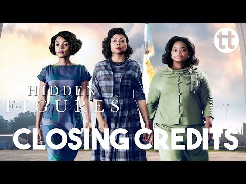 Hidden Figures End credits - i see a victory | pharrell williams