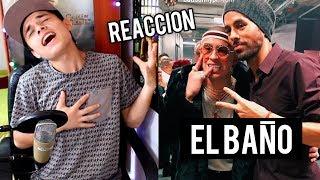 image of Enrique Iglesias - EL BAÑO ft. Bad Bunny El Conejo Malo Reaccion !