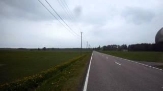 6. Kawasaki KX 500 high speed run #3 183km/h !!!!