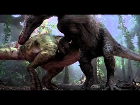 Jurassic Park T-Rex - Awake and Alive