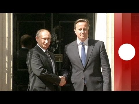 Cameron - Russian President Vladimir Putin met with British Prime Minister David Cameron in Downing Street... euronews, the most watched news channel in Europe Subscri...