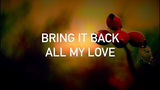 """i can't believe that you left here with all my love :(you can also follow me on https://facebook.com/mrjustlyrics and on https://twitter.com/mrjustlyricsthese are the lyrics for Conor Maynard's contribution to Cash Cash's """"All My Love"""". Cash Cash is an American electronic music group from Roseland, New Jersey and currently consists of three DJs: brothers Jean Paul Makhlouf and Alex Makhlouf, and Samuel Frisch. the song represents the search of a loved one who no longer is available for the authorno copyright infringement in this video; all the rights go to __ARTISTS_AND_LABELS__, as well as __HIS_OR_THEIR__ other possible labels. this video was made for the unique purposes of entertainment"""