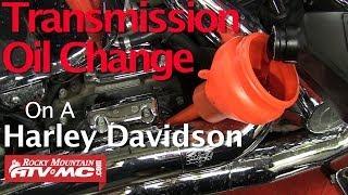 5. Harley Davidson Transmission Fluid Change