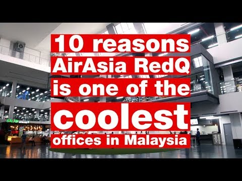 10 reasons AirAsia RedQ is one of the coolest offices in Malaysia