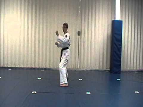 image for ATA TKD Songahm 1 9th Grade White Belt Form