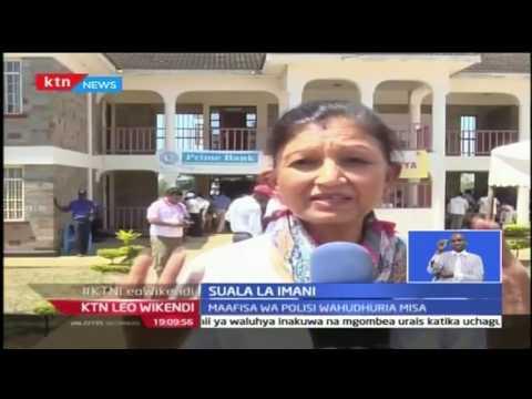 Maafisa wa usalama wajumuika kwenye misa maalum jijini Kisumu