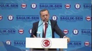 Sağlık-Sen Lisans Tamamlama Recep Tayyip Erdoğan Metin Memiş