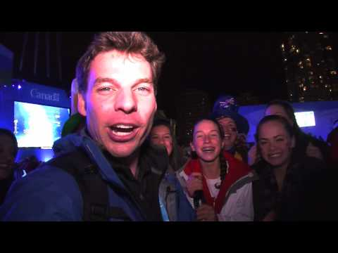 Olympic Torch Relay Day 105: Vancouver, British Columbia