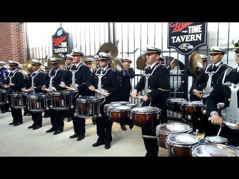 2014 Army Navy Drumline Battle (видео)