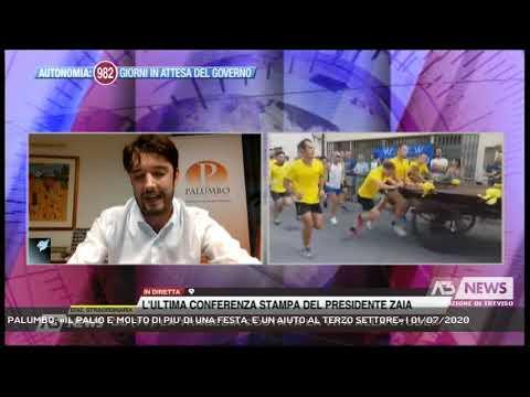 PALUMBO: «IL PALIO E' MOLTO DI PIU' DI UNA FESTA, E' UN AIUTO AL TERZO SETTORE» | 01/07/2020