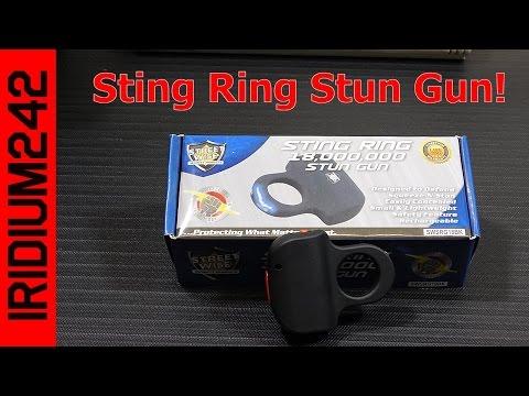 Streetwise Sting Ring Stun Gun