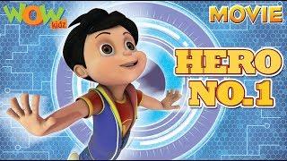 HERO No.1 | Vir The Robot Boy | Action Movie | ENGLISH, SPANISH & FRENCH SUBTITLES | WowKidz