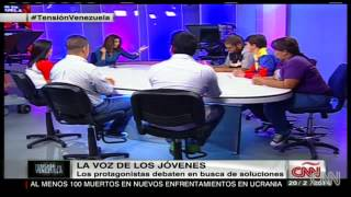 Jóvenes Debaten Sobre Venezuela En CNN | Parte 1
