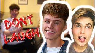Video TRY NOT TO LAUGH *CHALLENGE* ft HRVY MP3, 3GP, MP4, WEBM, AVI, FLV Mei 2018
