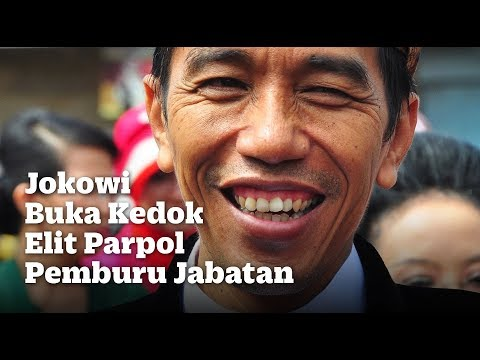 Jokowi Buka Kedok Elit Parpol Pemburu Jabatan