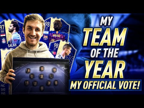 MY TEAM OF THE YEAR!