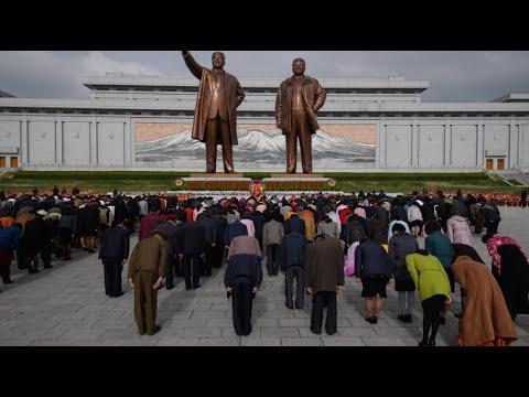 Nordkorea feiert Nationalfeiertag zu Ehren von Kim Il S ...
