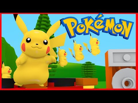 LEGO POKEMON - The Pikachu Song