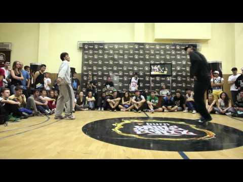 Tazmanio VS Just FOOTWORKS ROUND @ Burn Battle School Tour Odessa
