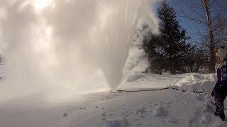 Winnipeg (MB) Canada  City new picture : A Sprinkler in Winter? -48C / -57F, Winnipeg, MB, CANADA