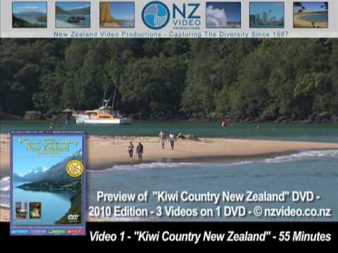 New Zealand (Country) - Kiwi Country New Zealand DVD Promotion - New Zealand is such a beautiful country. This 10 minute video gives you a great overview of what content is on our a...