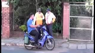 Moto bocina aire super like