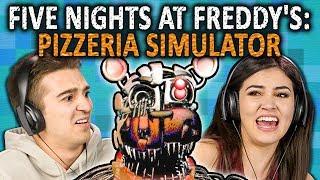 Video FIVE NIGHTS AT FREDDY'S: PIZZERIA SIMULATOR | FNAF 6 (React: Gaming) MP3, 3GP, MP4, WEBM, AVI, FLV Oktober 2018