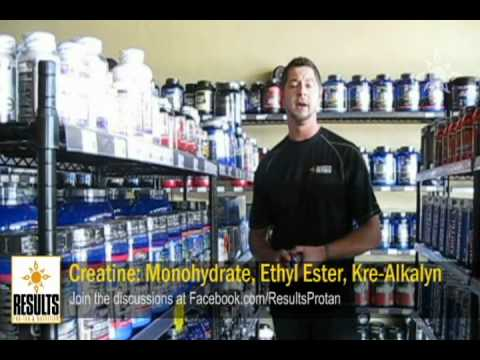 Building Strength with Creatine: Monohydrate, Ethyl Ester, Kre-Alkalyn