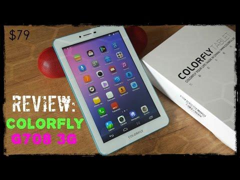 Colorfly G708 - Full Review de la tablet 3G y Octa Core con 1Gb de Ram por $79