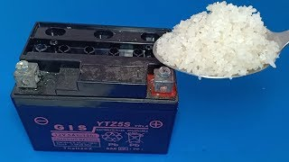 Video How to repair dead  dry battery at home , Lead acid battery repairation MP3, 3GP, MP4, WEBM, AVI, FLV November 2018