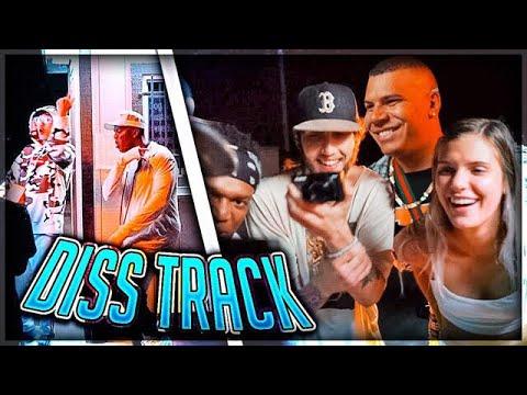 My Friends REACT To My NEW MUSIC VIDEO ft. KSI (W2S, Sidemen, Behzinga Diss Track)