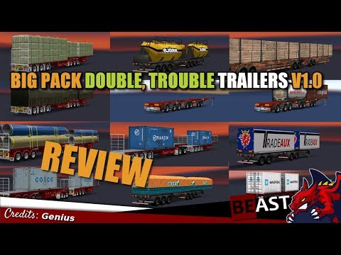 BIG PACK DOUBLE, TROUBLE TRAILERS v1.0