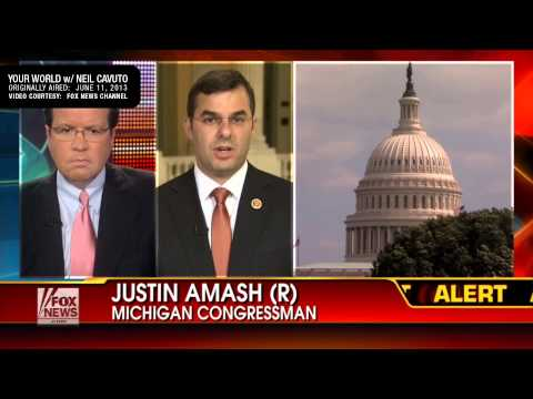 Justin Amash: NSA Domestic Spying and PATRIOT Act are Threat to the Liberties of Americans