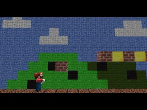 What if Retro Games were in Minecraft